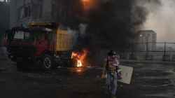 Tear gas, clashes in Beirut amid fury over massive blast